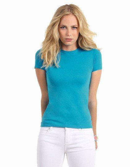 92d751d72f8916 Rundhals T-Shirts für Damen zum bedrucken | To Jam Group